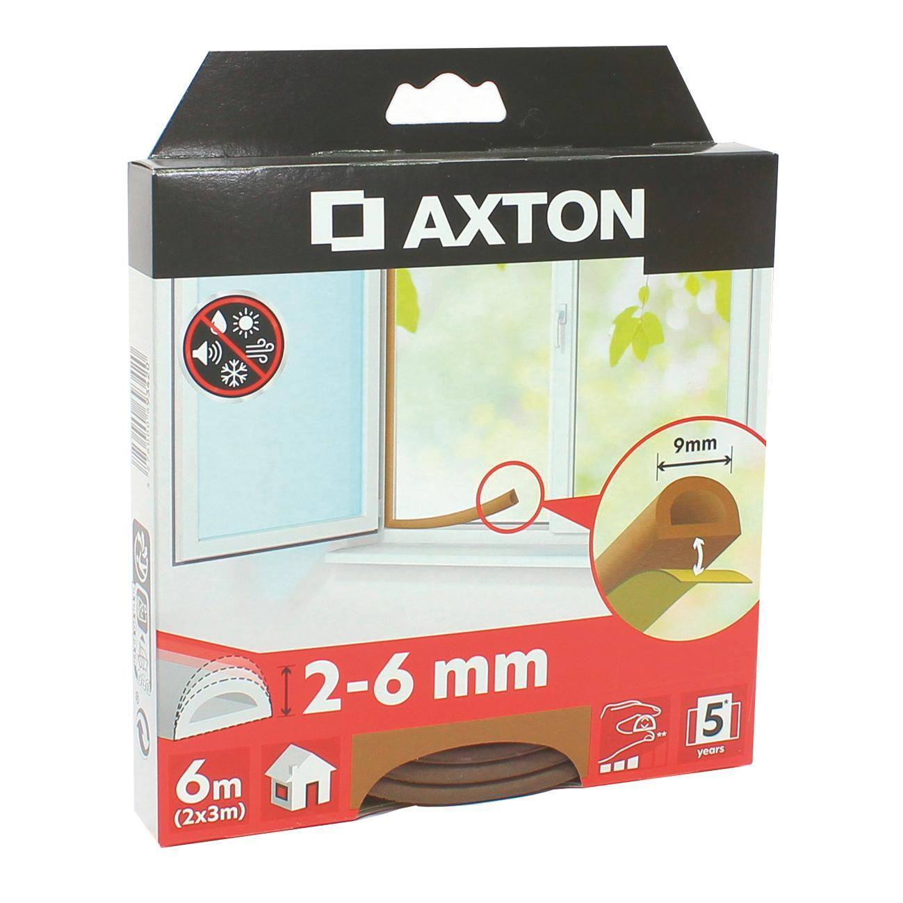 Guarnizione autoadesivo AXTON strip marrone - 4