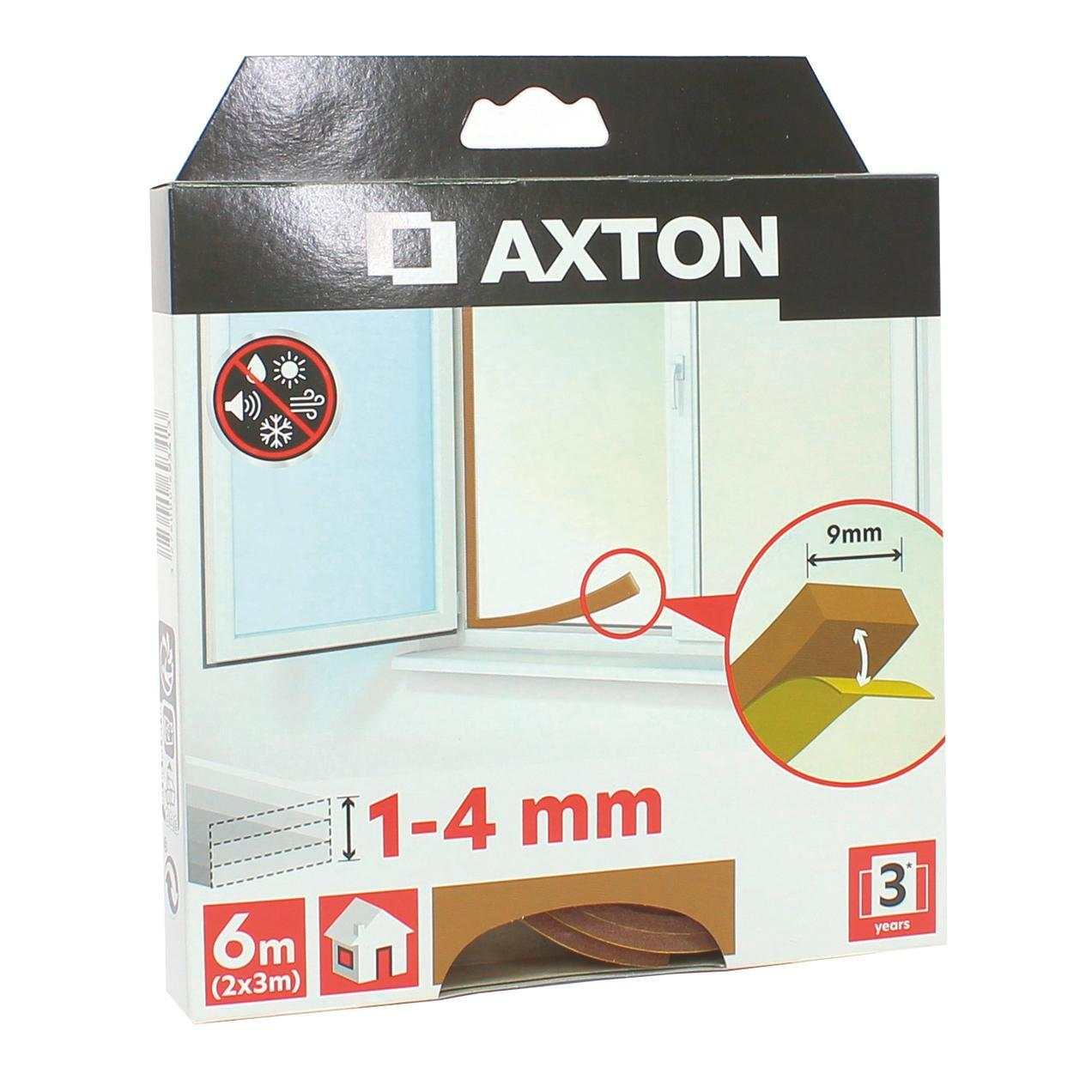 Guarnizione autoadesivo AXTON FLEX marrone - 5