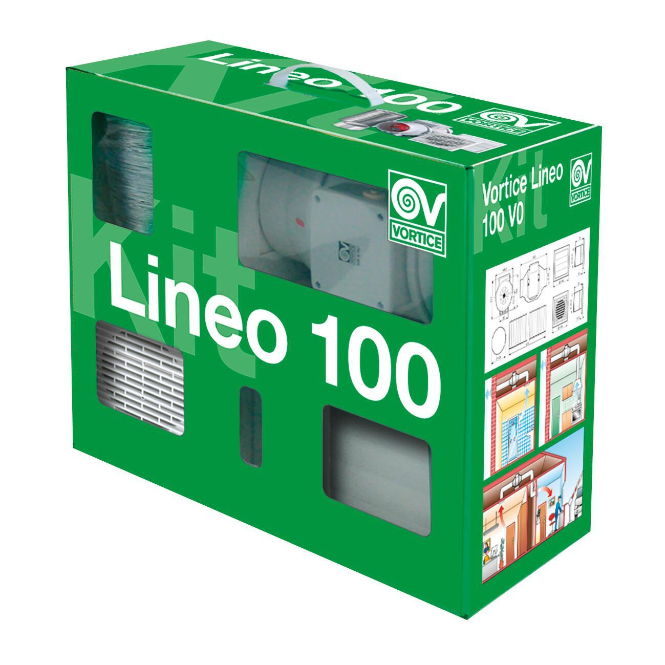 Aspiratore VORTICE LINEO 100 V0/1 Ø 100 mm - 2