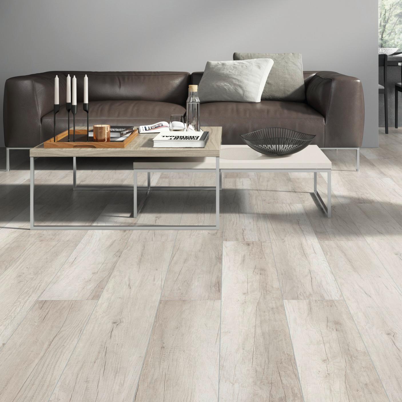 Pavimento laminato H2O Oak Sp 8 mm grigio / argento - 3