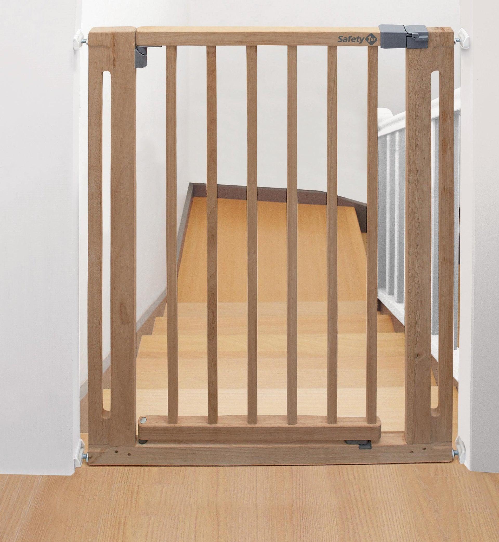 Cancelletto di sicurezza per bambini Esay Close Wood L 73 cm - 1