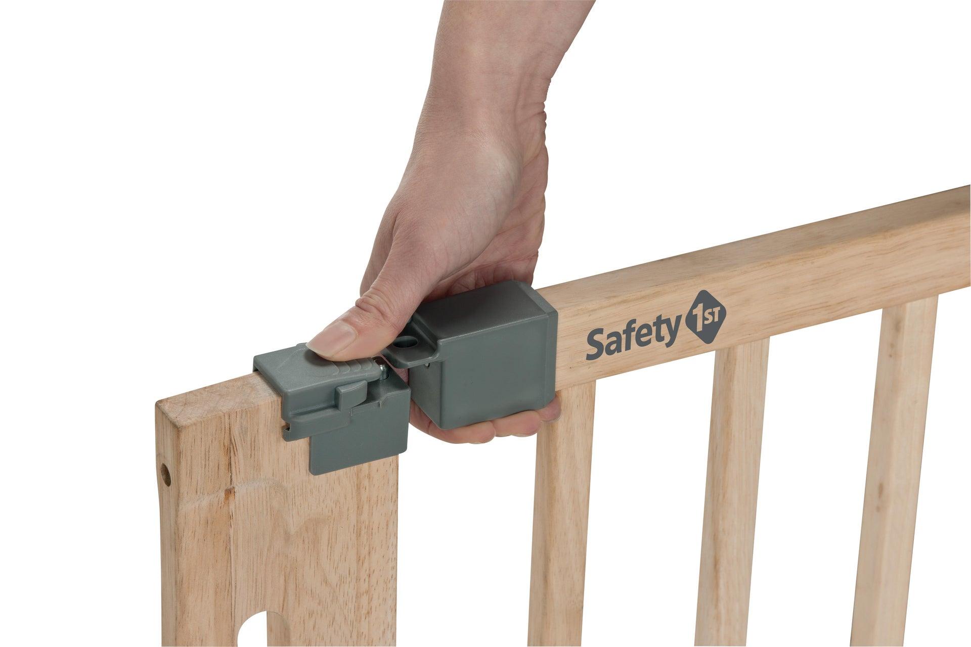 Cancelletto di sicurezza per bambini Esay Close Wood L 73 cm - 4