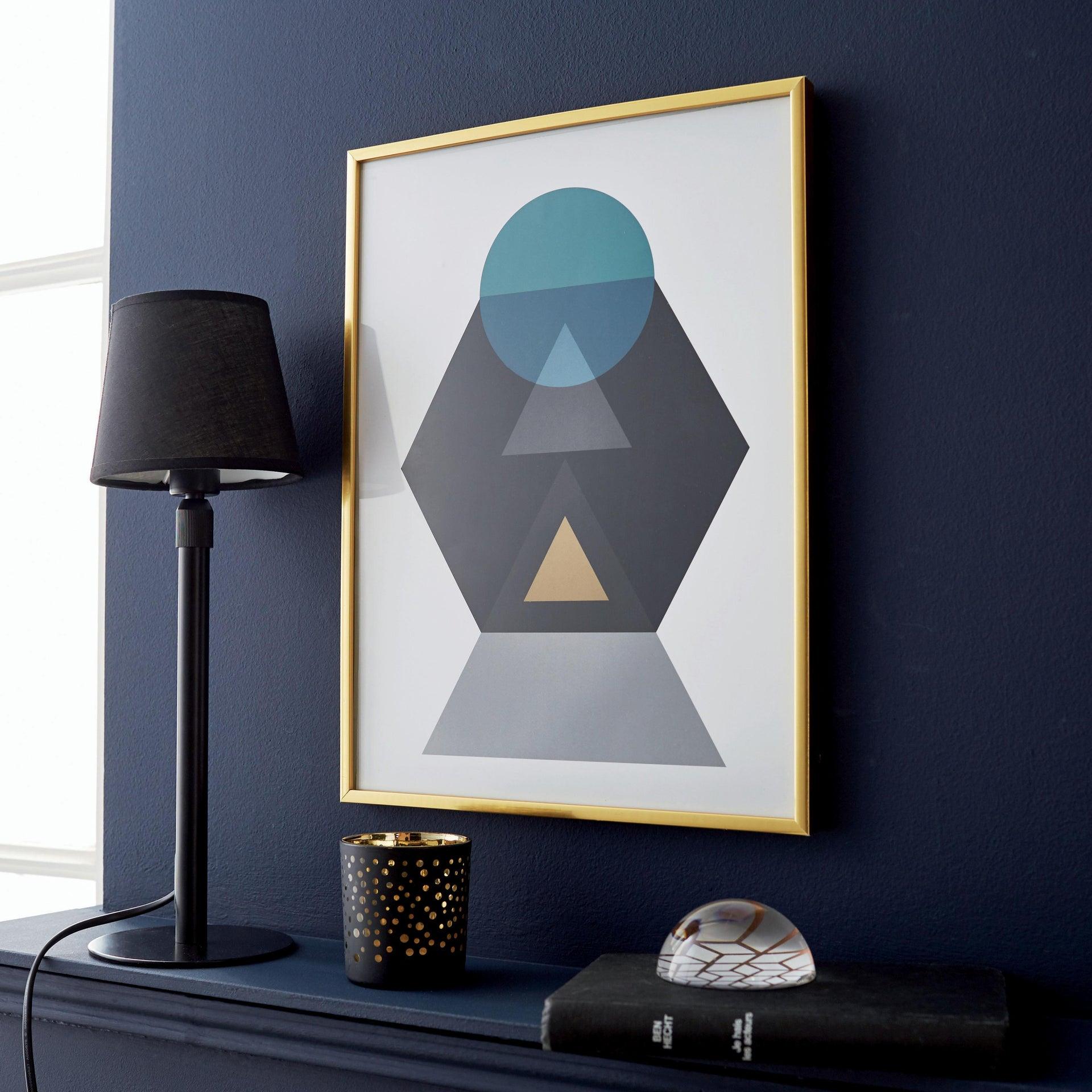 Cornice INSPIRE Lila oro per foto da 21x29.7(A4) cm - 3