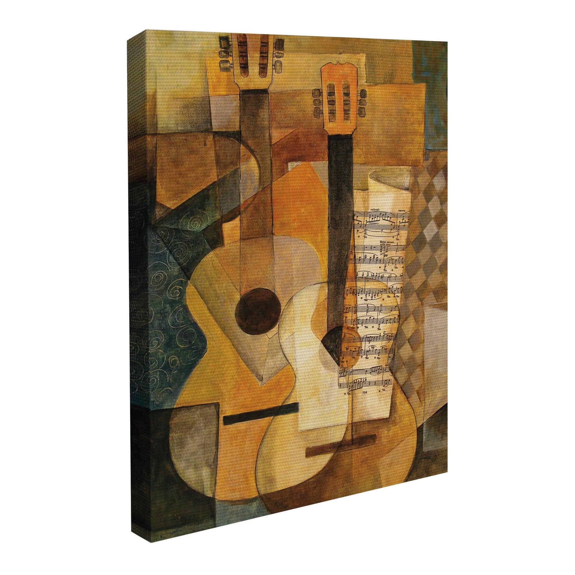 Quadro su tela Cubismo 60x90 cm - 4
