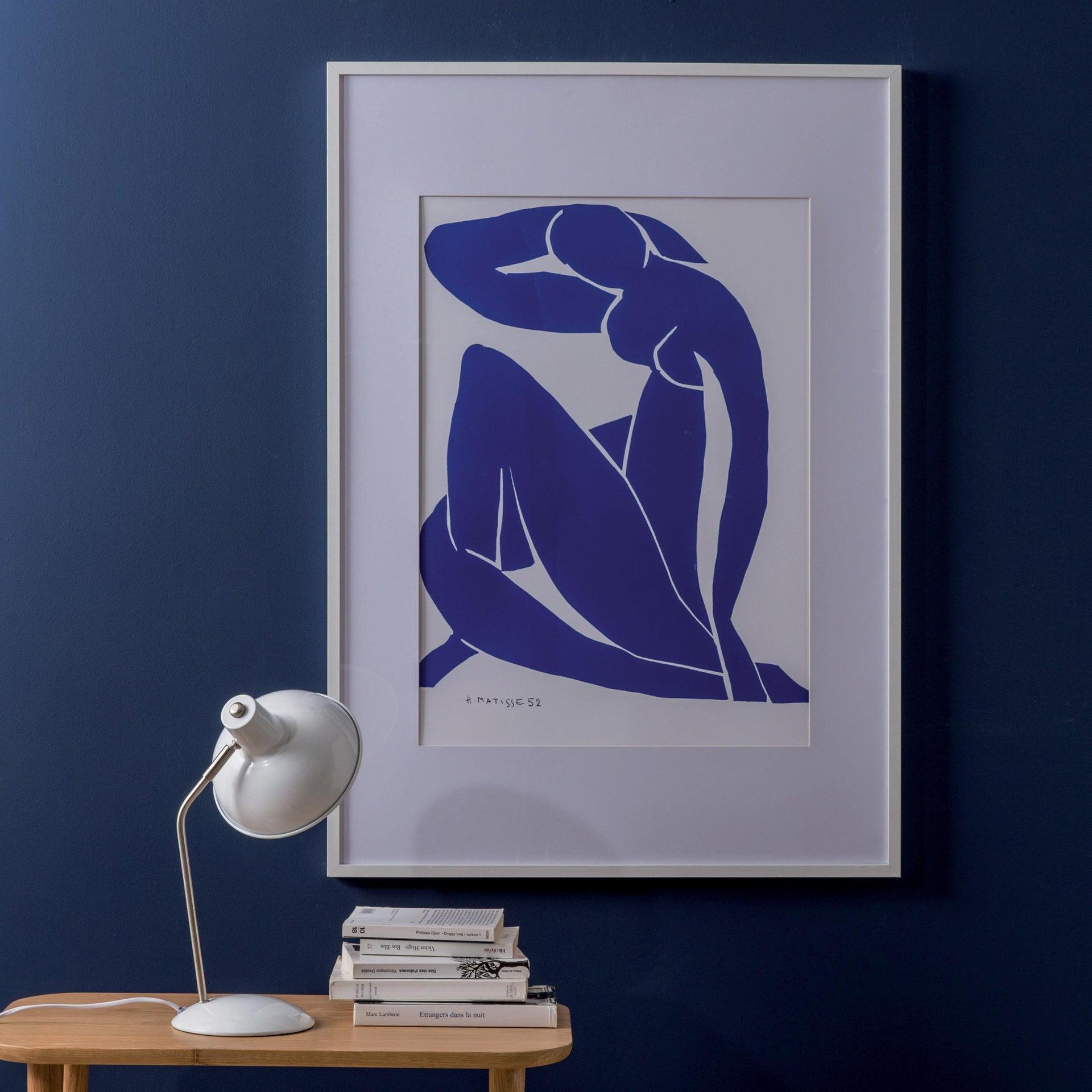 Cornice con passe-partout Inspire milo bianco 40x50 cm - 1