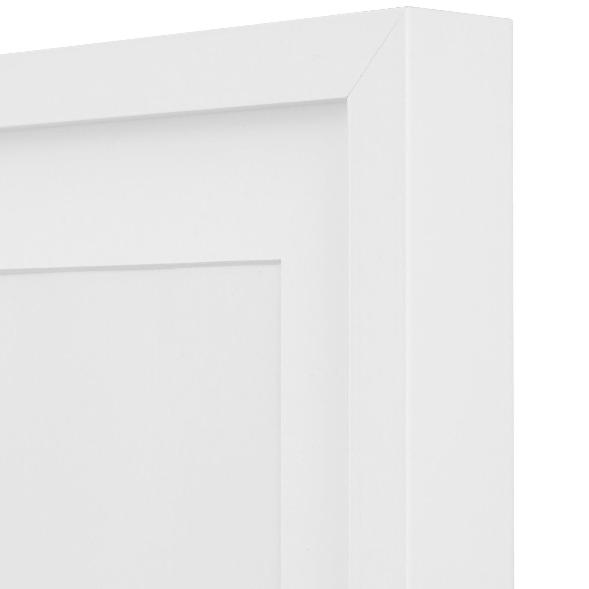 Cornice con passe-partout Inspire milo bianco 40x50 cm - 5