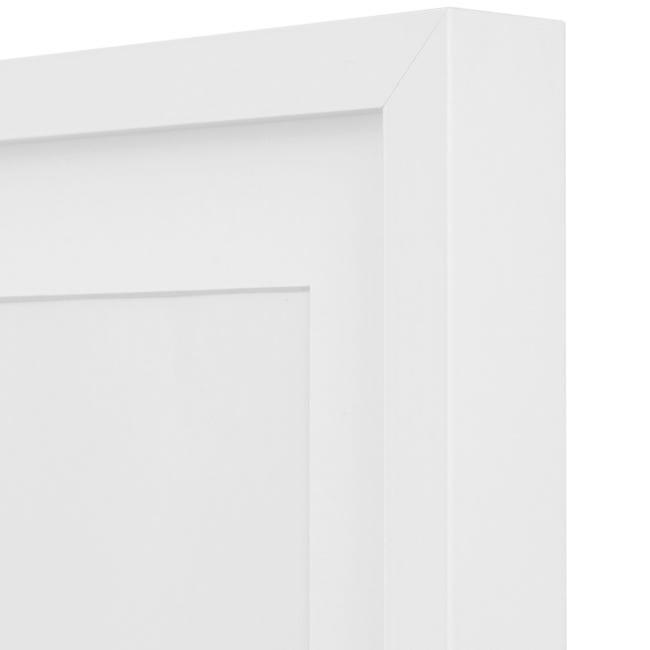 Cornice con passe-partout Inspire milo bianco 70x100 cm - 1