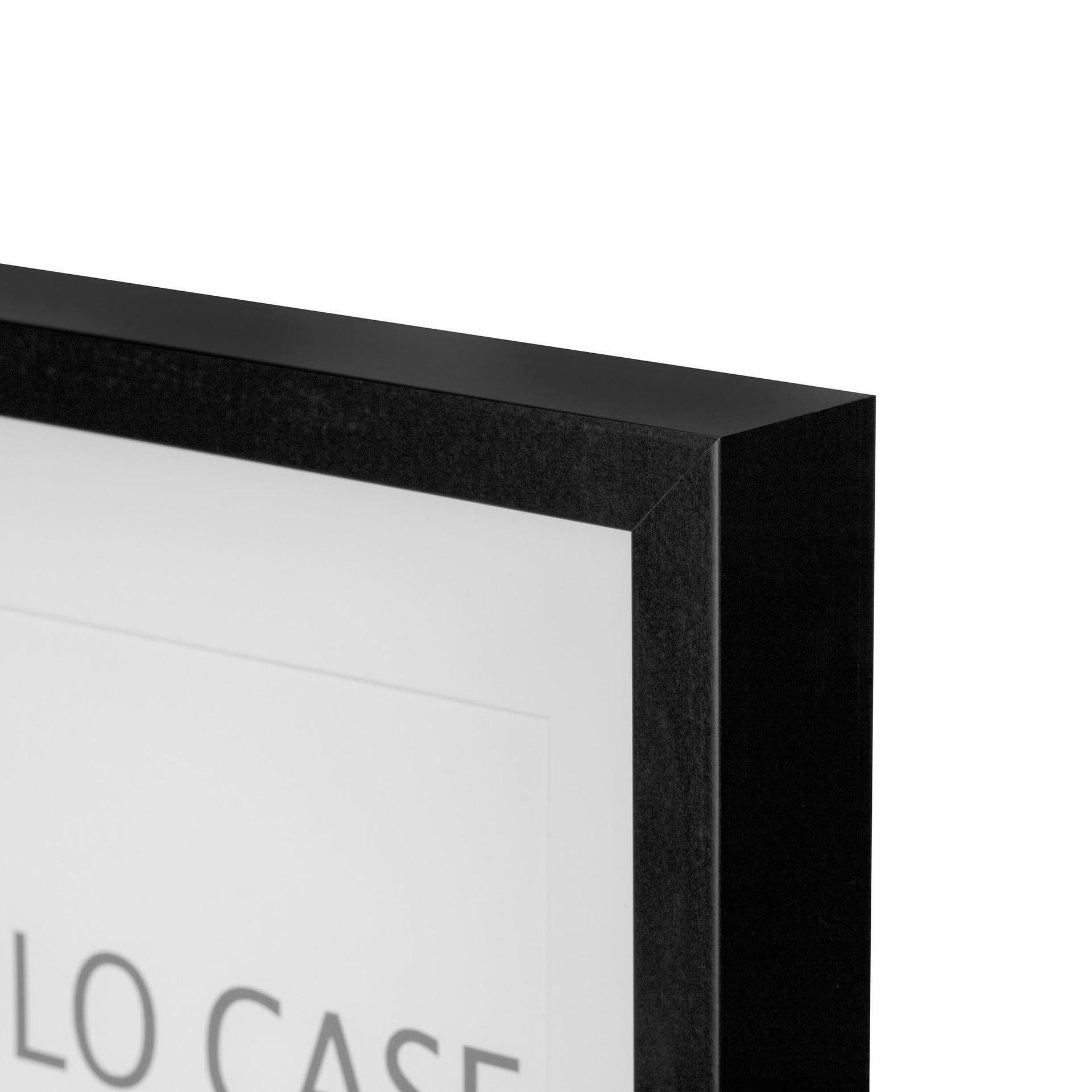 Cornice con passe-partout Inspire milo nero 40x50 cm - 3