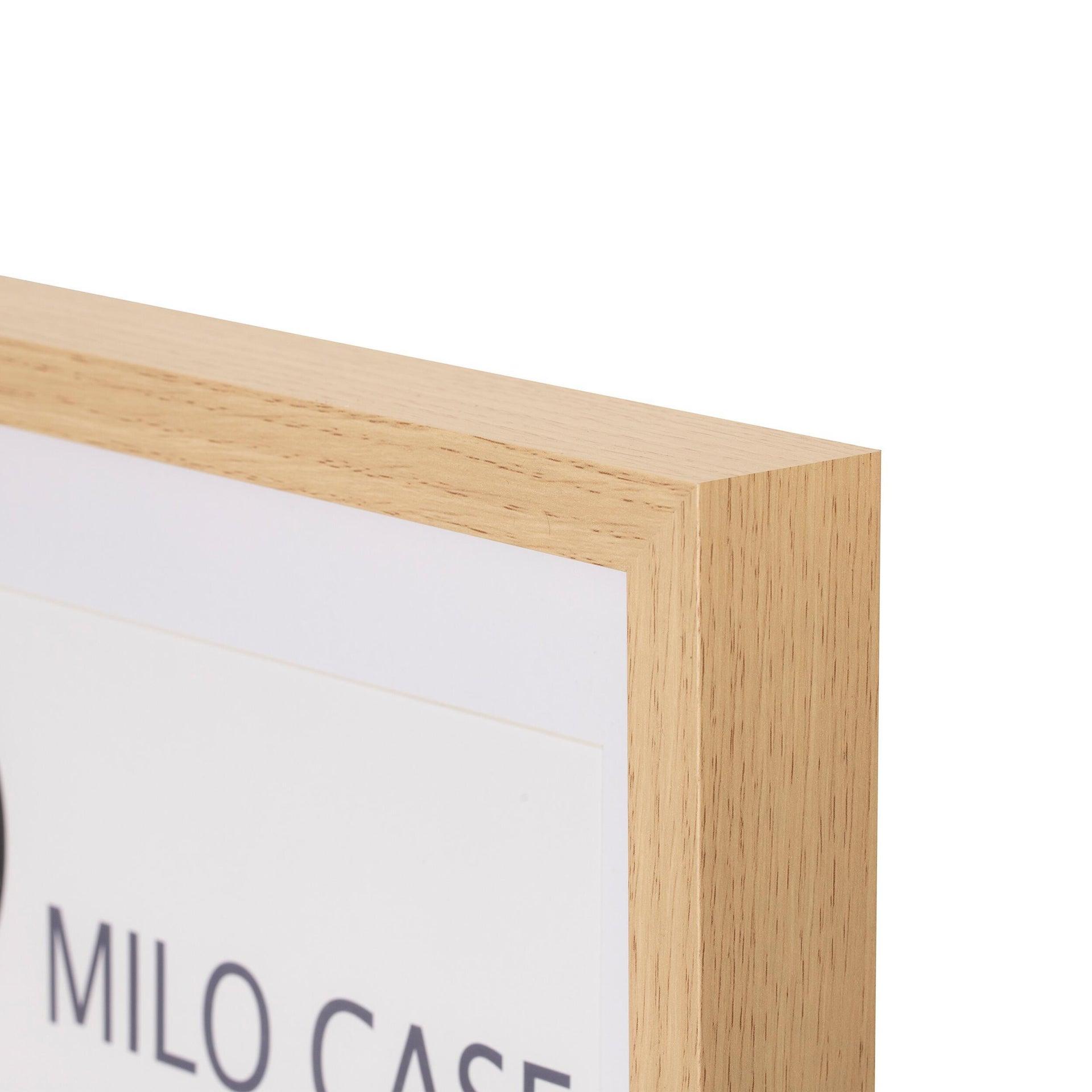 Cornice con passe-partout Inspire milo rovere 40x50 cm - 2