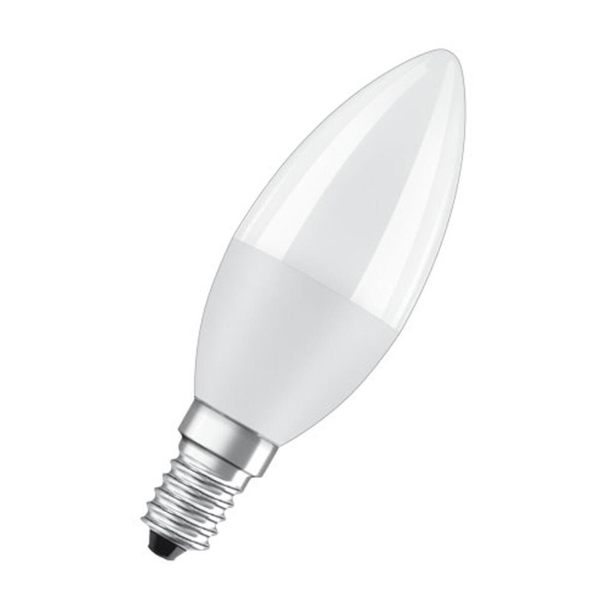 Lampadina LED, E14, Oliva, Opaco, Luce calda, 8W=806LM (equiv 60 W), 200° , OSRAM - 4