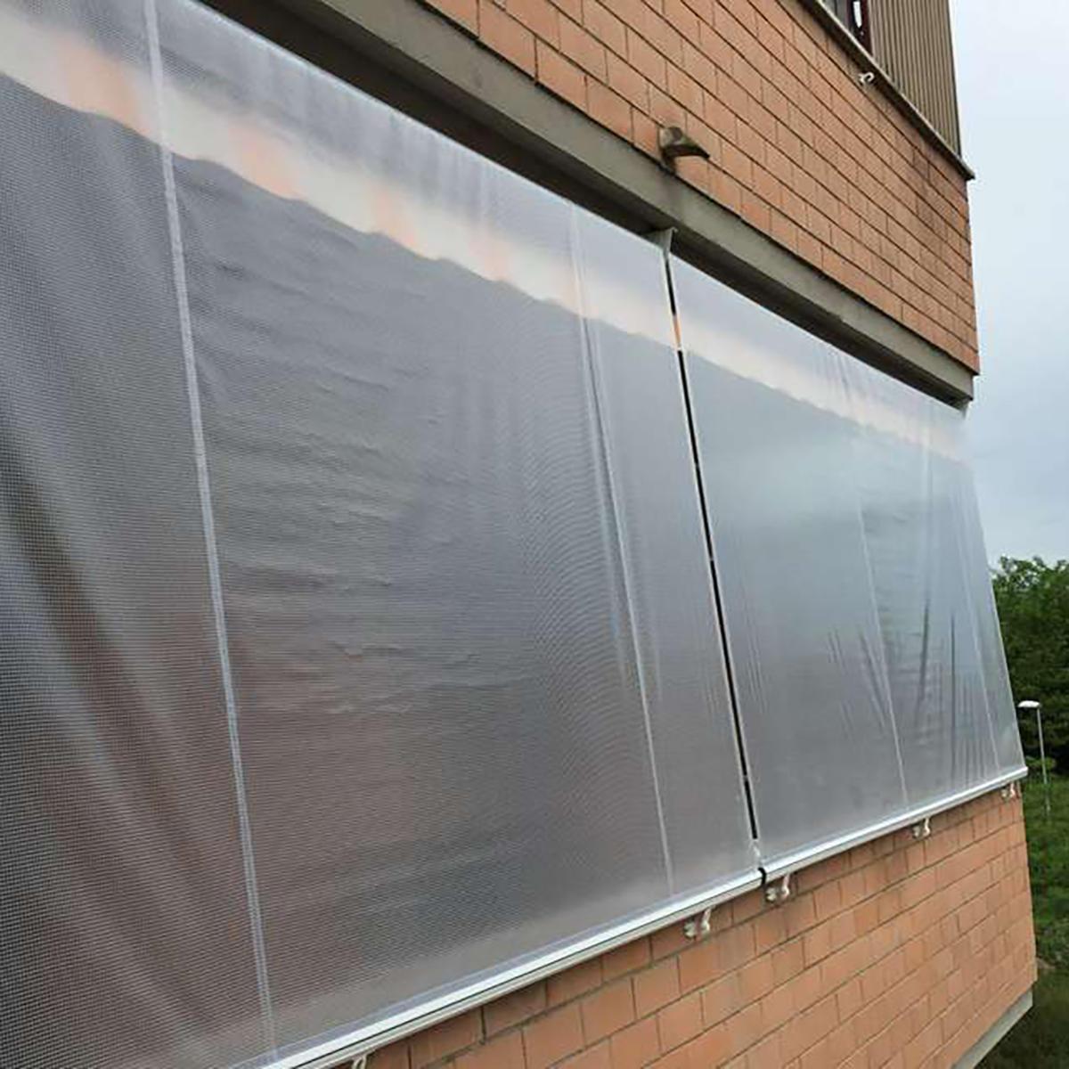 Telo protettivo in polietilene occhiellato retinato L 2 m x H 300 cm 150 g/m² - 3