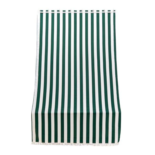 Telo per tenda da esterno verde 140 x 250 cm - 1