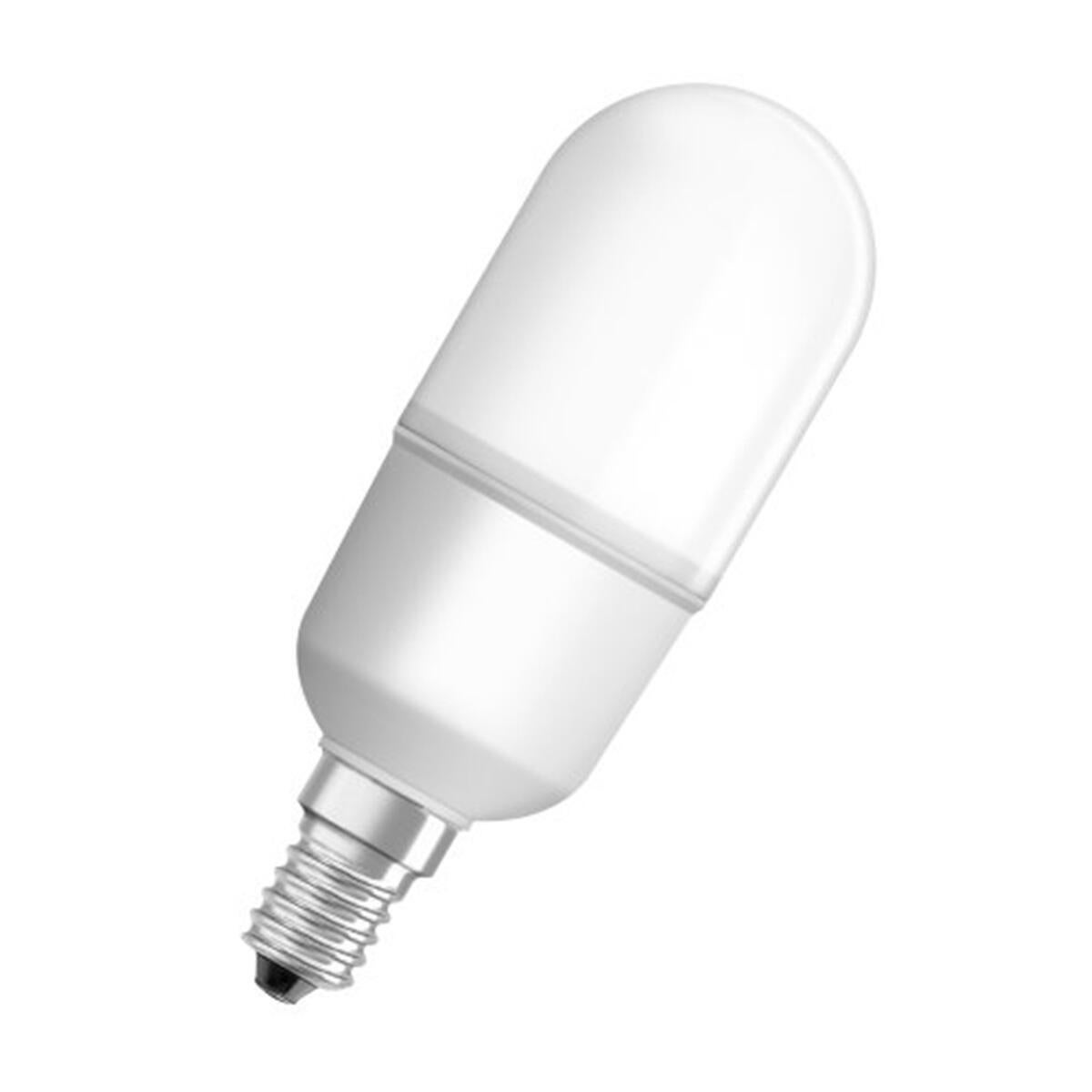 Lampadina LED, E14, Bulbo, Opaco, Luce calda, 8W=806LM (equiv 60 W), 200° , OSRAM - 5