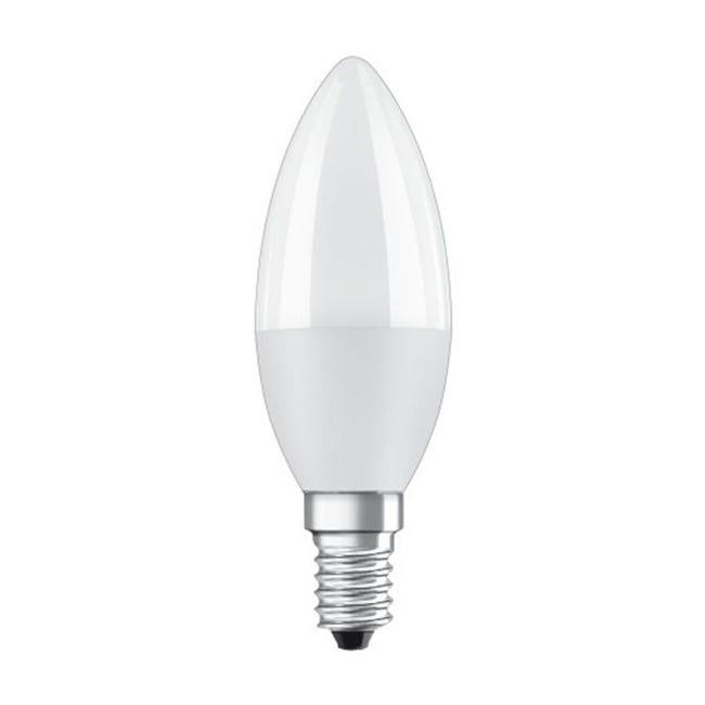Lampadina LED, E14, Oliva, Opaco, Luce calda, 8W=806LM (equiv 60 W), 200° , OSRAM - 1