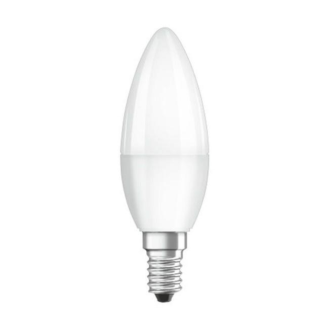 Lampadina LED, E14, Oliva, Opaco, Luce calda, 3W=250LM (equiv 25 W), 220° , OSRAM - 1