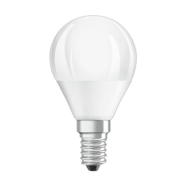 Lampadina LED, E14, Sferico, Opaco, Luce calda, 5W=470LM (equiv 40 W), 360° , OSRAM - 1