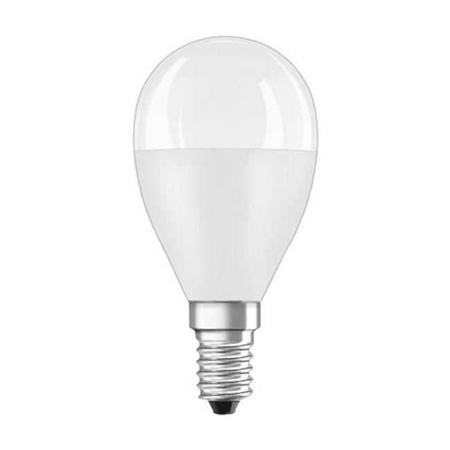 Lampadina LED, E14, Sferico, Opaco, Luce calda, 8W=806LM (equiv 60 W), 150° , OSRAM - 1