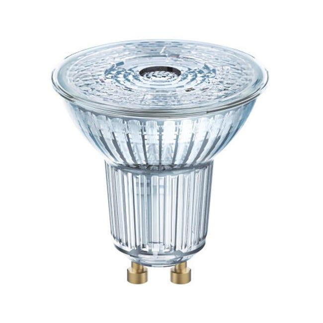 Lampadina LED, GU10, Faretto, Trasparente, Luce calda, 4.3W=350LM (equiv 50 W), 36° , OSRAM - 1