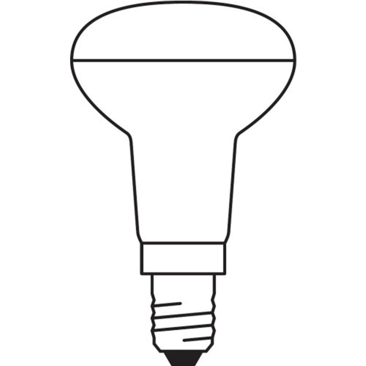 Lampadina LED, E14, Faretto, Trasparente, Luce calda, 1.5W=110LM (equiv 25 W), 36° , OSRAM - 4
