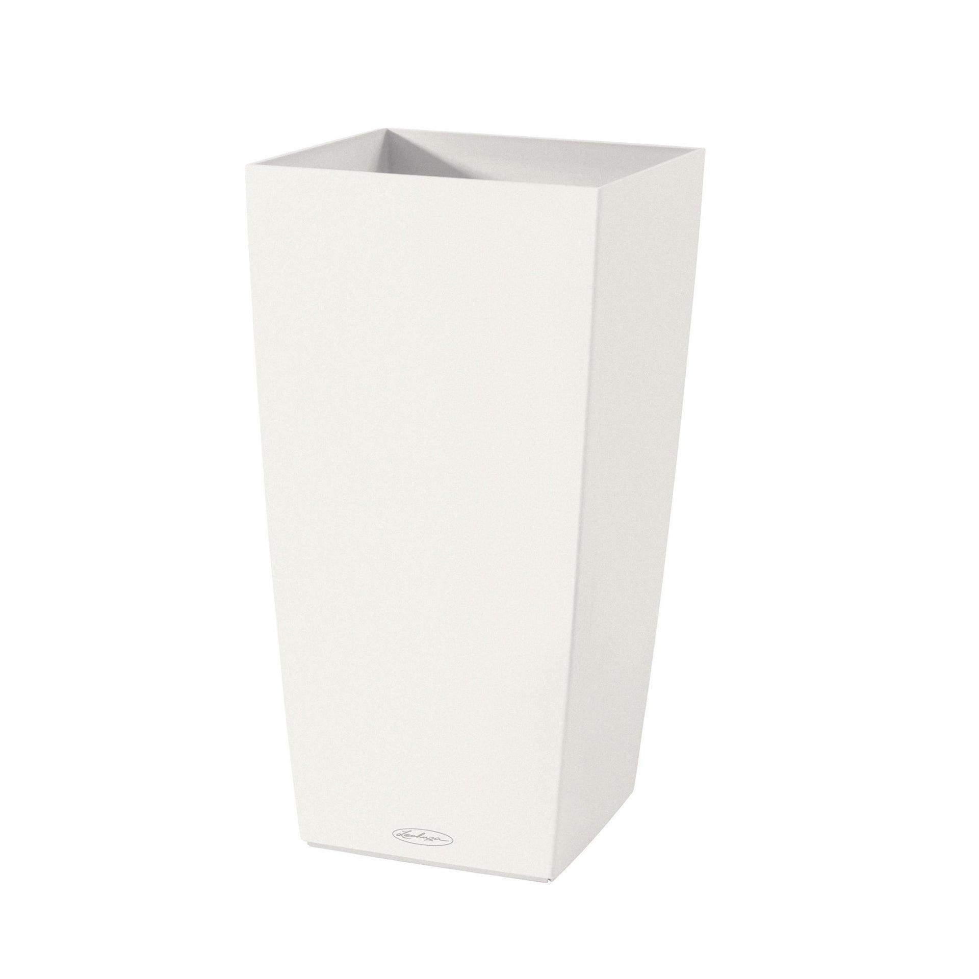 Portavaso Cubico Color in plastica colore bianco H 56.0 x Ø 25.0 - 2