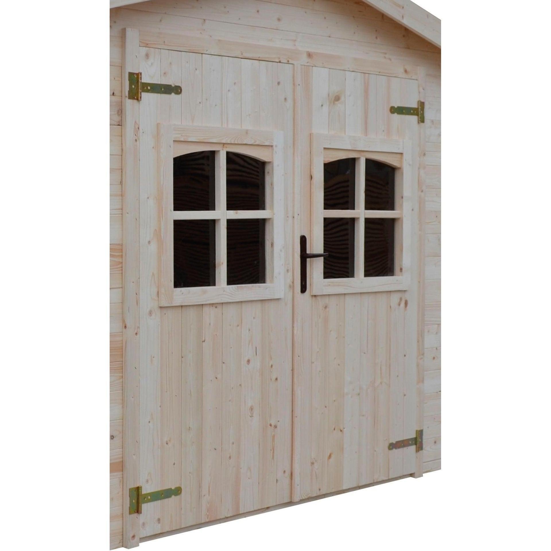 Casetta da giardino in legno Elista, superficie interna 6.66 m² e spessore parete 19 mm - 5