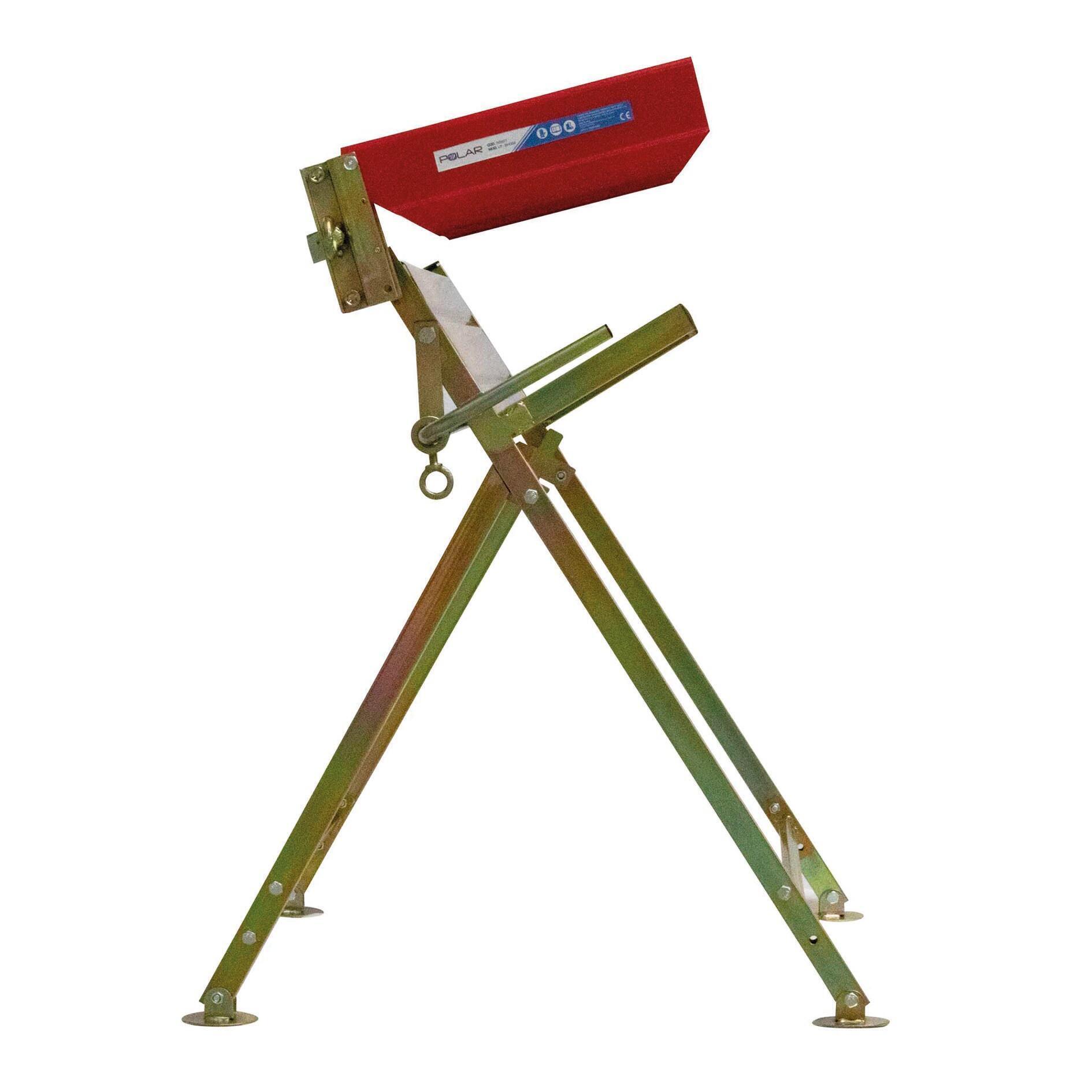 Cavalletto reggi legna in alluminio H 80 cm - 5