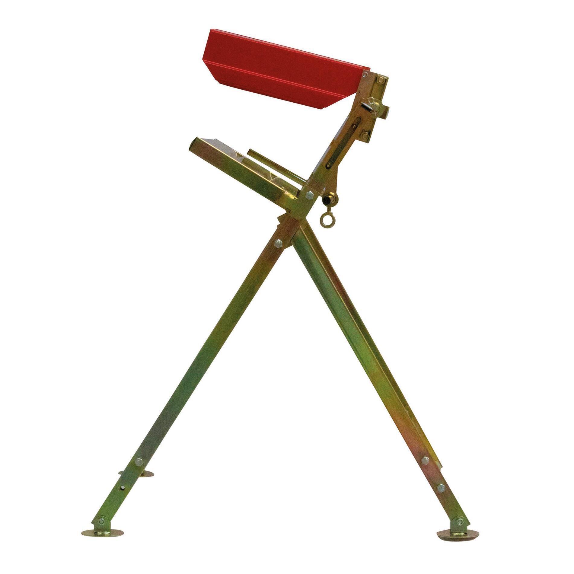 Cavalletto reggi legna in alluminio H 80 cm - 2