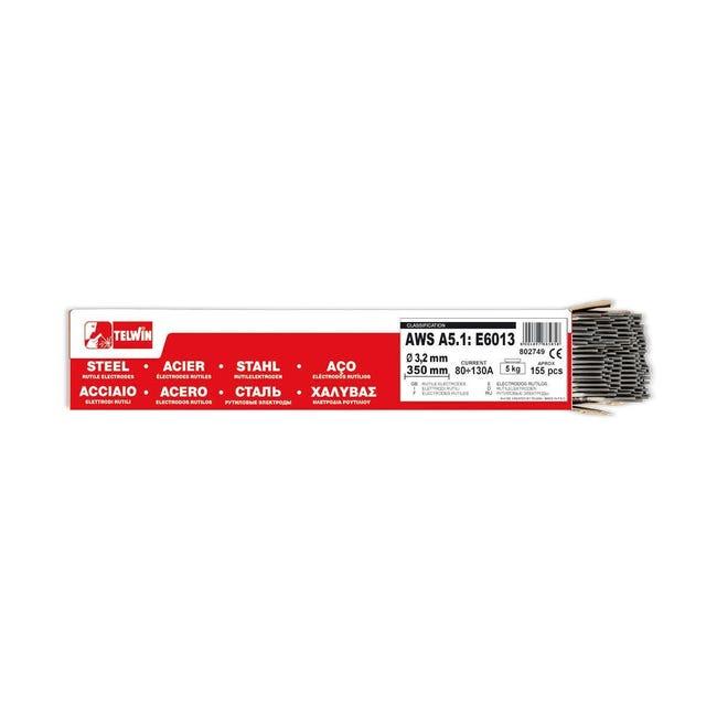 155 elettrodi rutilo Ø 3.2 mm - 1