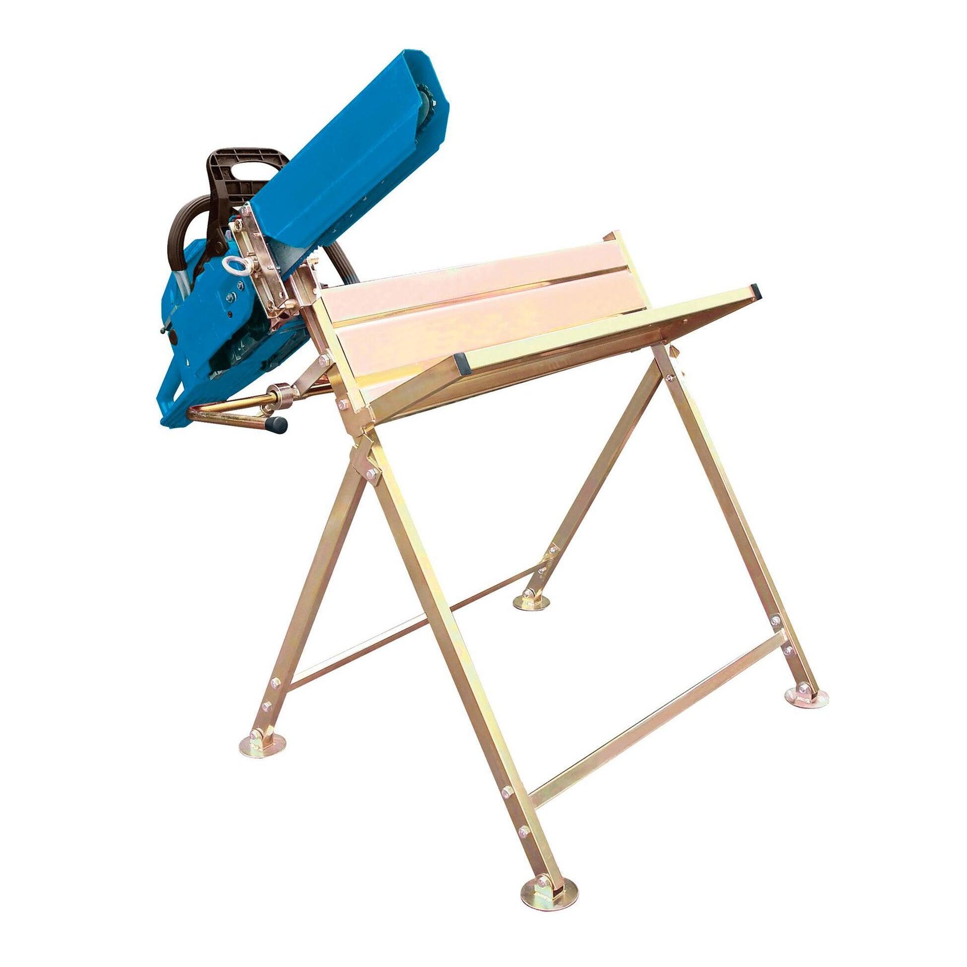 Cavalletto reggi legna in alluminio H 80 cm - 6