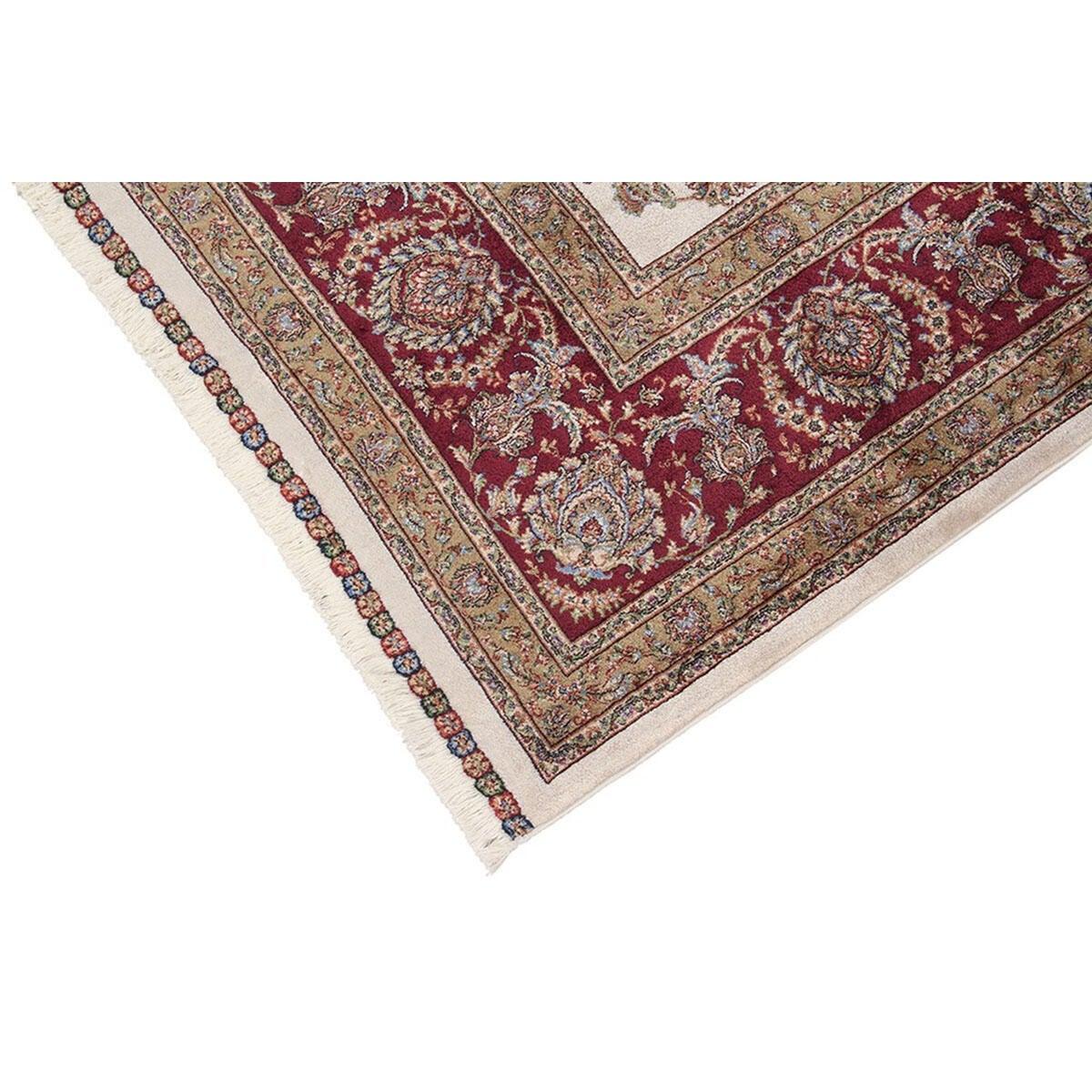 Tappeto Qoum Shah 2 in cotone, beige, 200x300 - 3