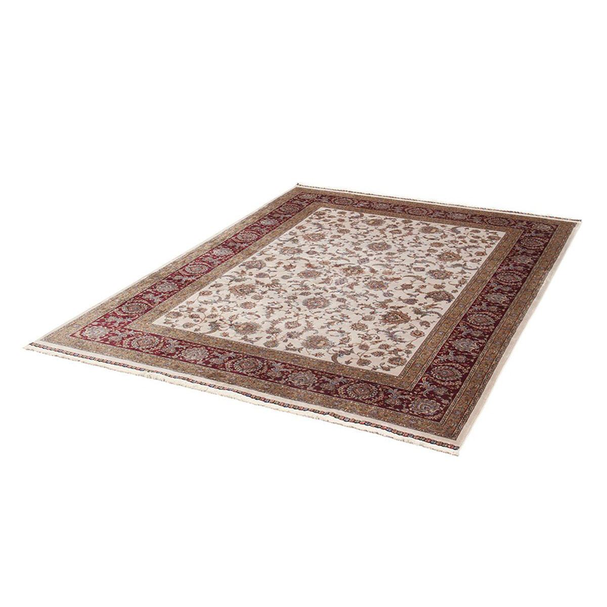 Tappeto Qoum Shah 2 in cotone, beige, 200x300 - 5