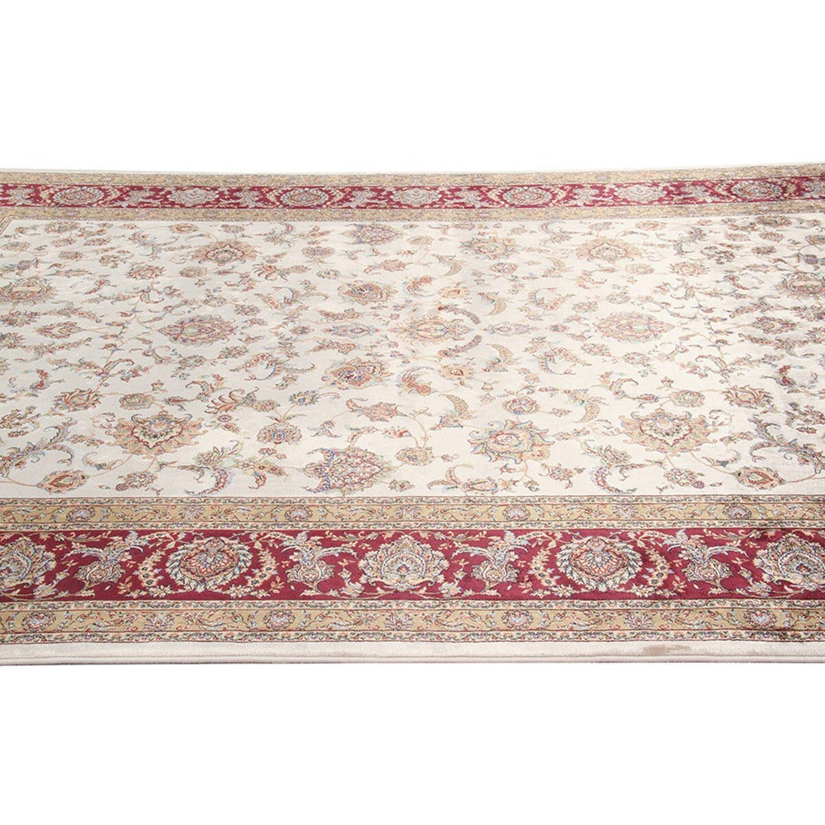 Tappeto Qoum Shah 2 in cotone, beige, 200x300 - 4