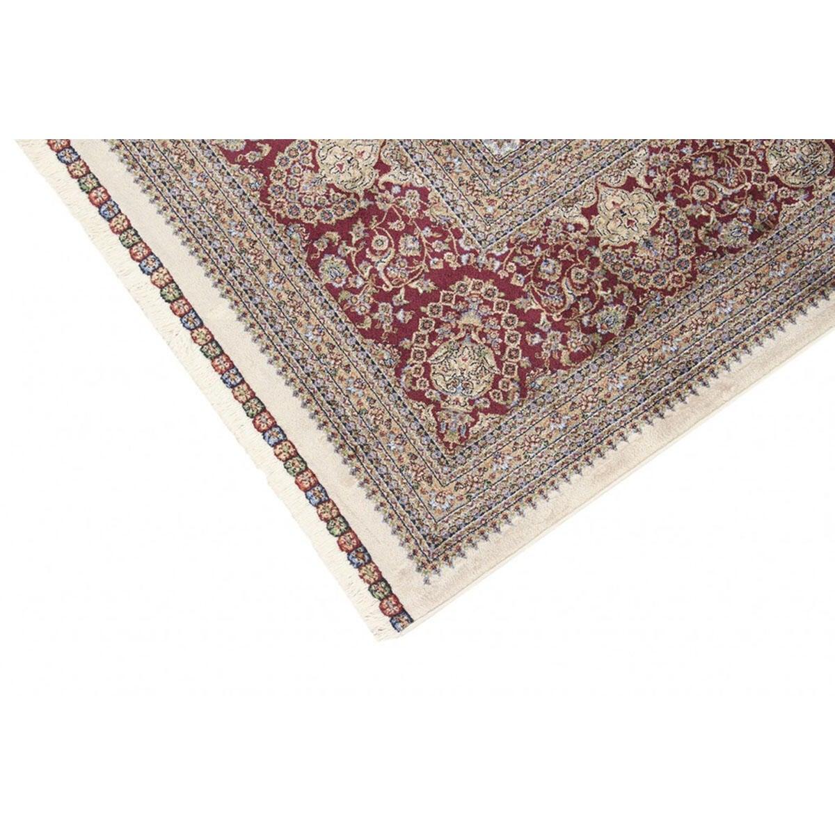 Tappeto Qoum Shah 5 in cotone, beige, 200x290 - 3