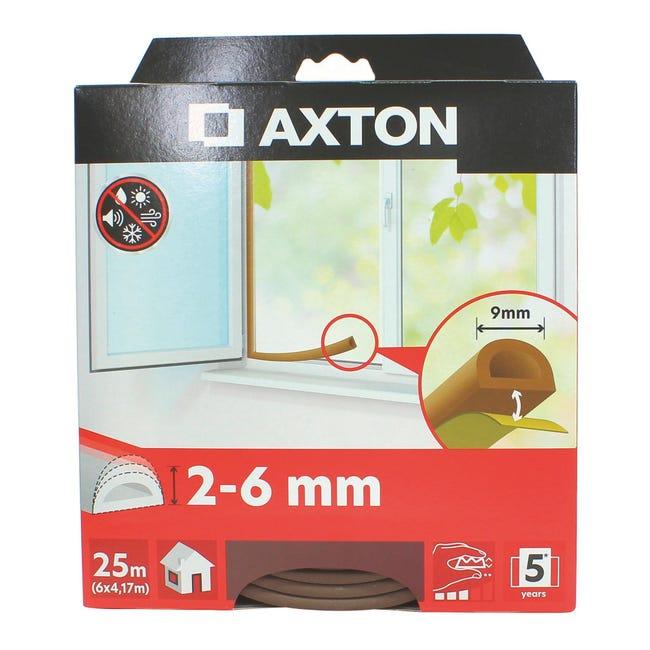 Guarnizione isolante per porte e finestre adesivo GEKO marrone - 1