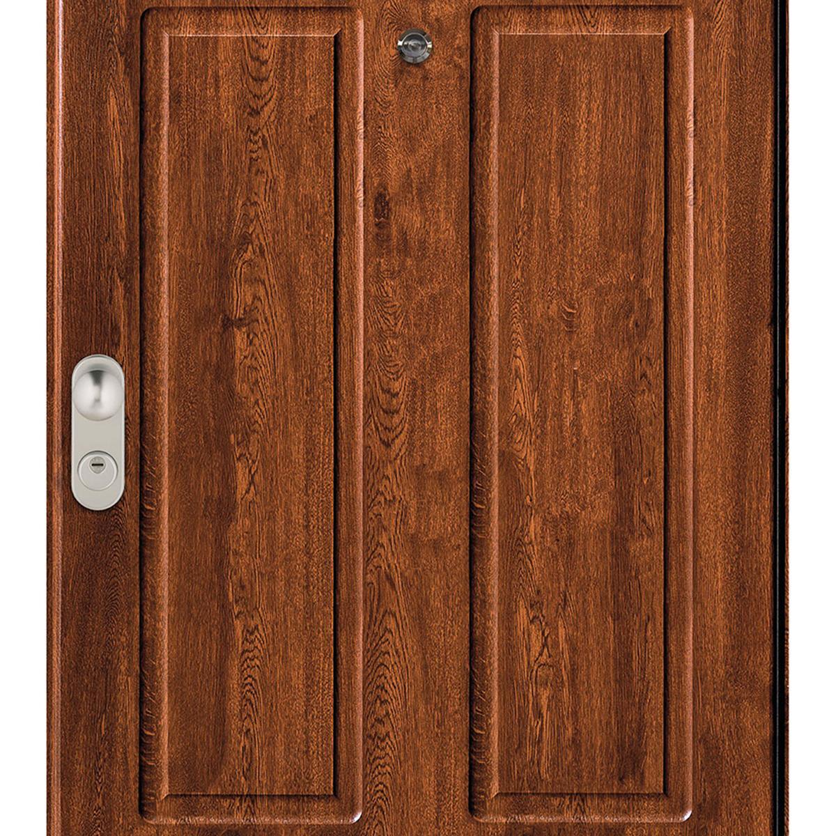 Porta blindata Iro noce L 90 x H 210 cm destra - 4