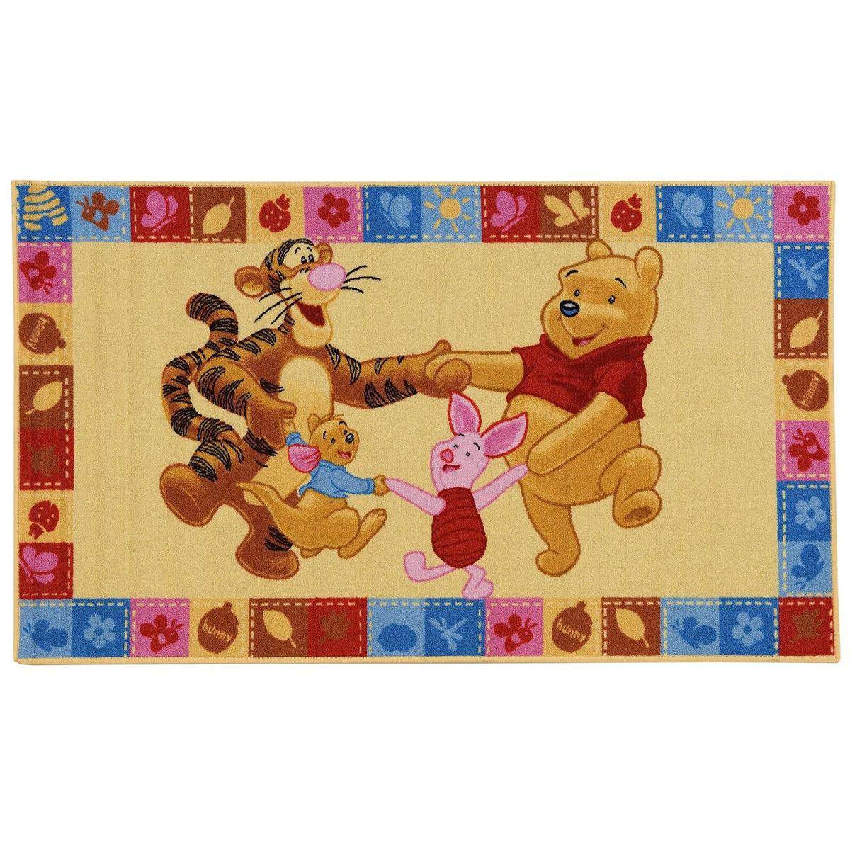 Tappeto Winnie & F , giallo, 100x170 - 1