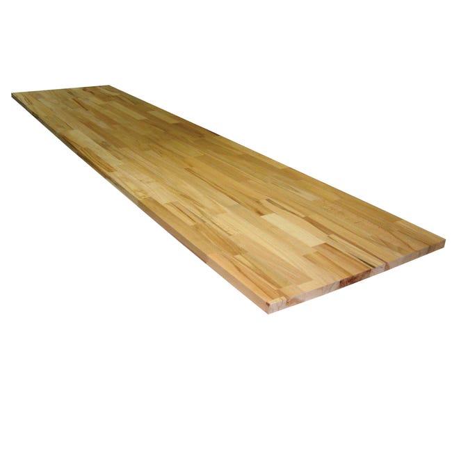 Tavola legno lamellare faggio 1° scelta 200 x 50 cm Sp 20 mm - 1