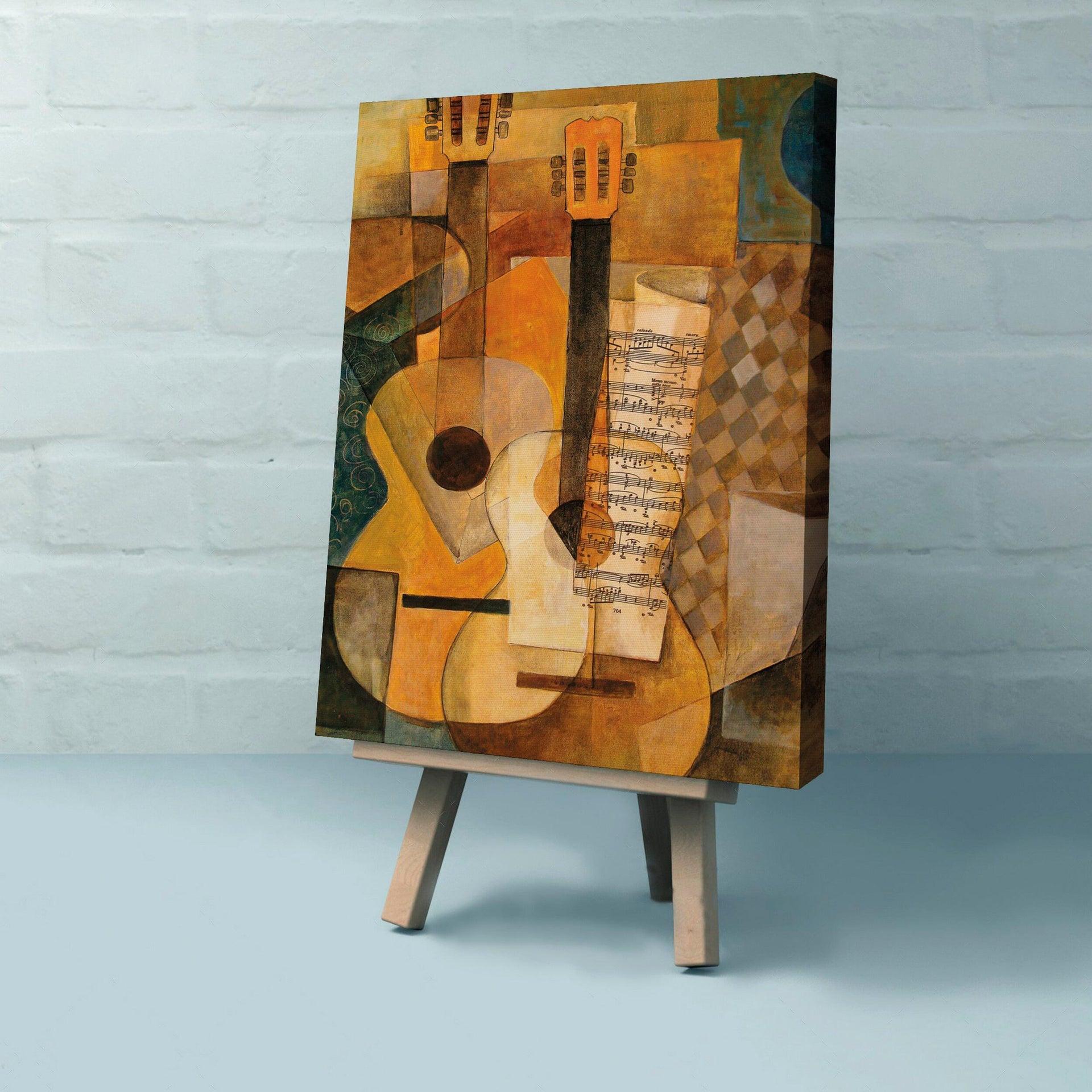 Quadro su tela Cubismo 60x90 cm - 2