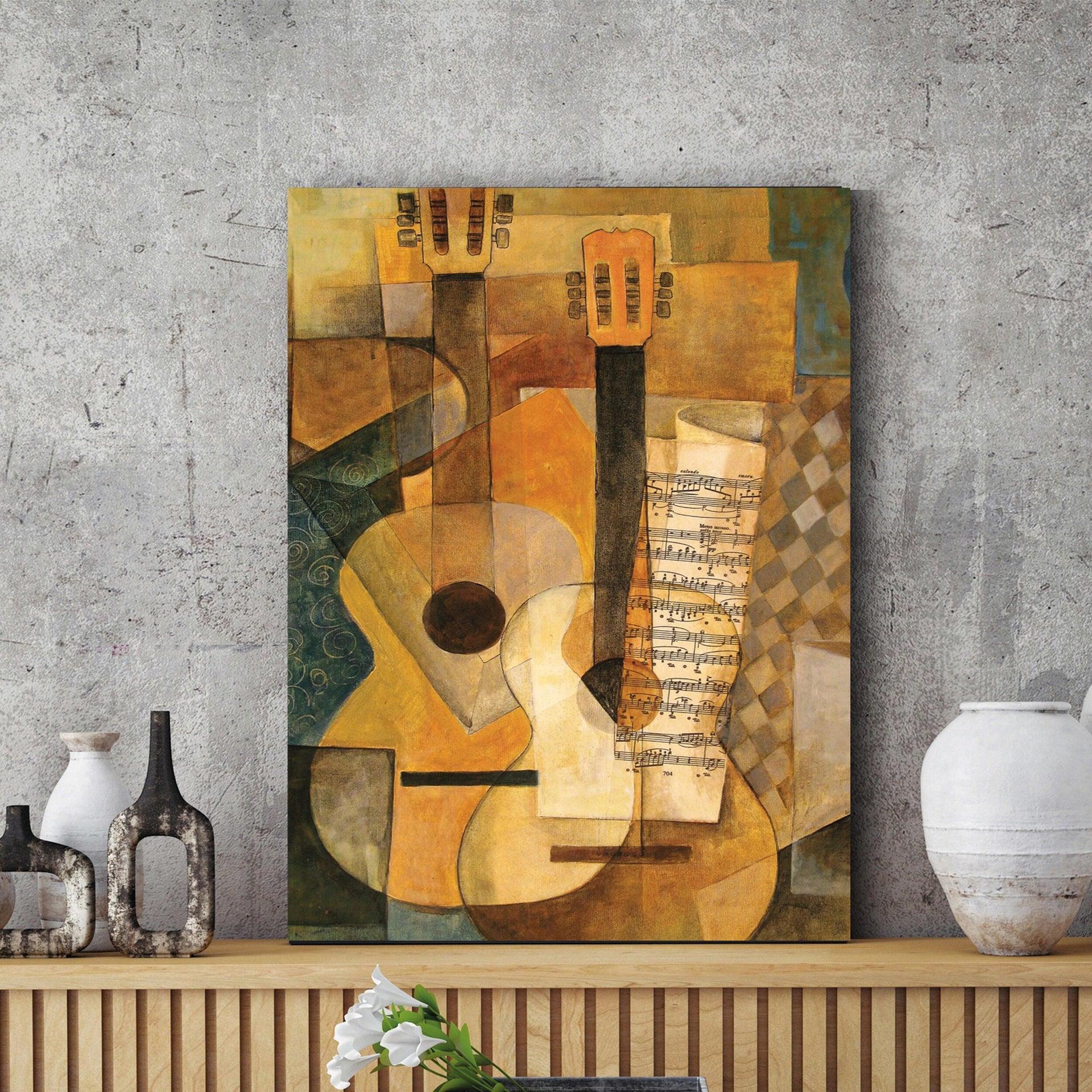 Quadro su tela Cubismo 60x90 cm - 5