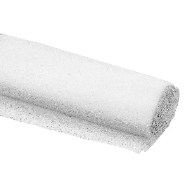 Telo feltro DEXTER antiscivolo 1 X 0.11 m bianco - 1