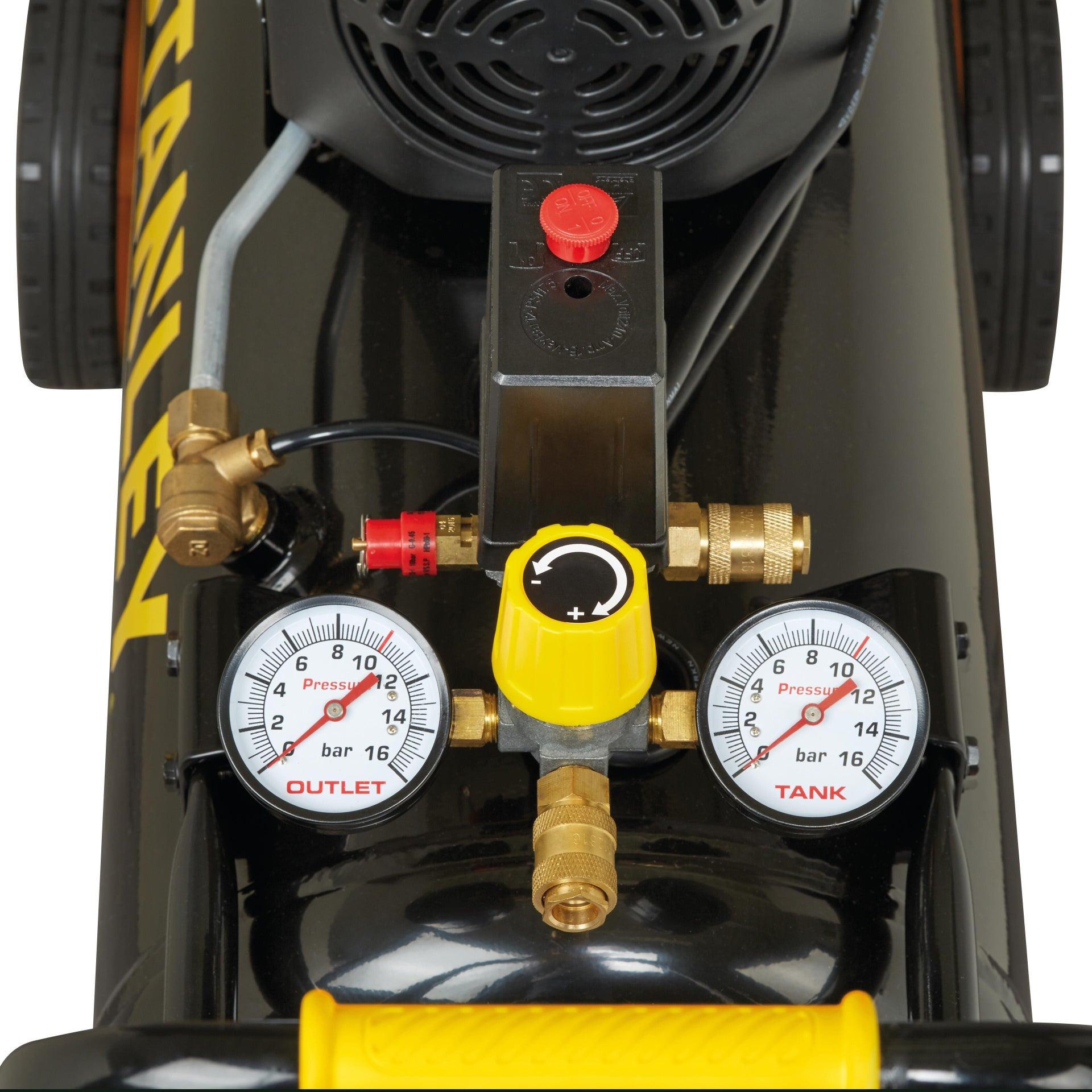 Compressore ad olio STANLEY FATMAX D251/10/50S, 2.5 hp, 10 bar, 50 L - 2