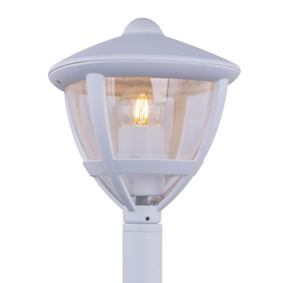 Lampioncino Nollo H50 cm in alluminio, bianco, E27 1x MAX 40W IP44 GLOBO - 3