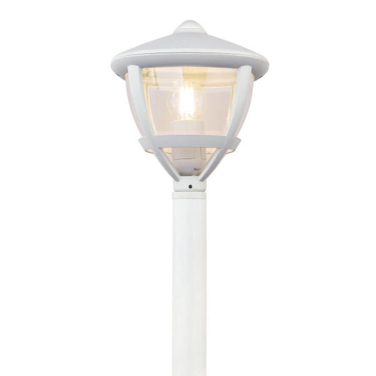 Lampione Nollo H100 cm in alluminio, bianco, E27 1x MAX 40W IP44 GLOBO - 4