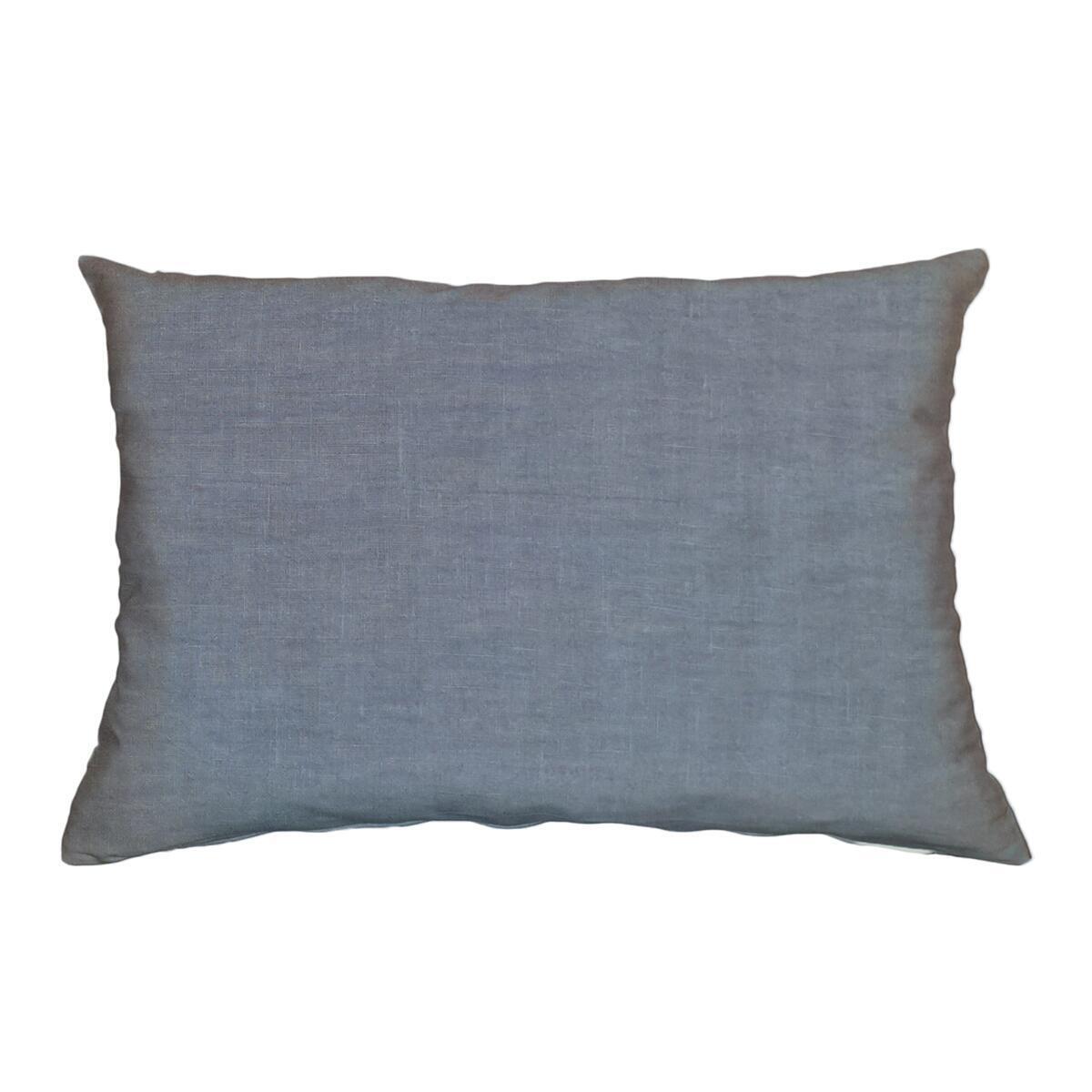 Cuscino Lino viola 40x60 cm - 1