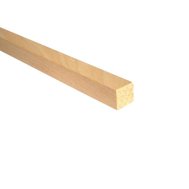 Listello piallato faggio 0.8 m x 15 mm, Sp 15 mm - 1