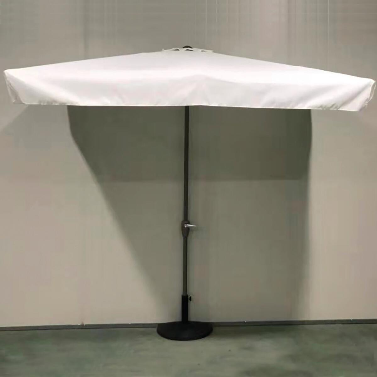 Ombrellone Taormina L 2.3 x P 1.3 m color ecru - 2
