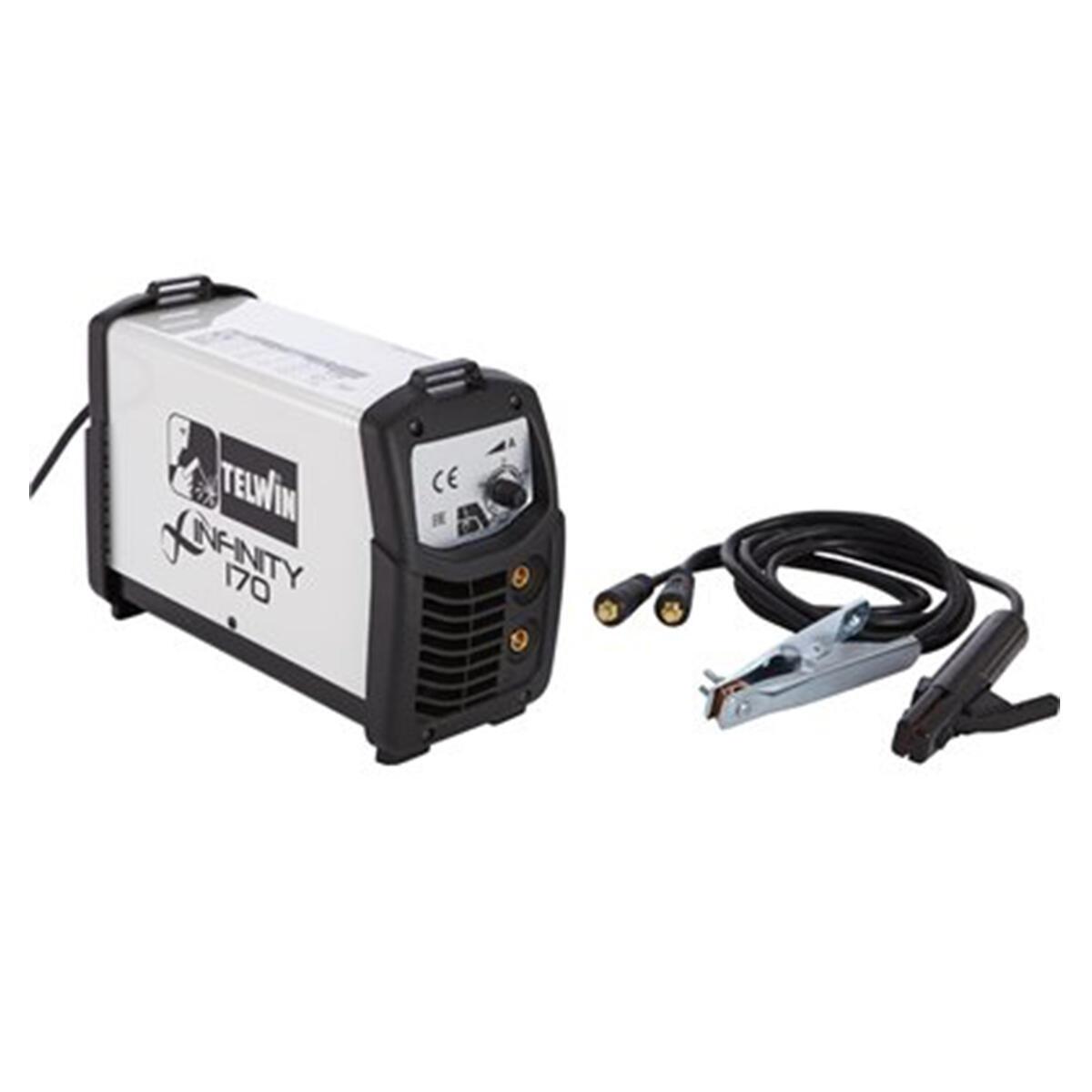 Saldatrice inverter TELWIN 816080 mma, tig 150 A 4000 W