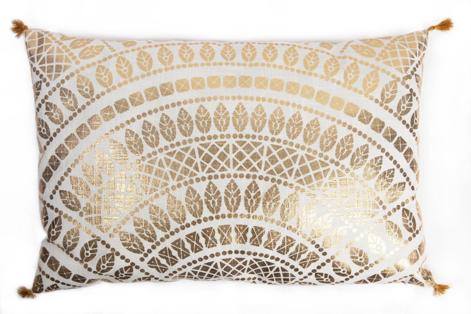 Cuscino Marmore bianco 40x40 cm
