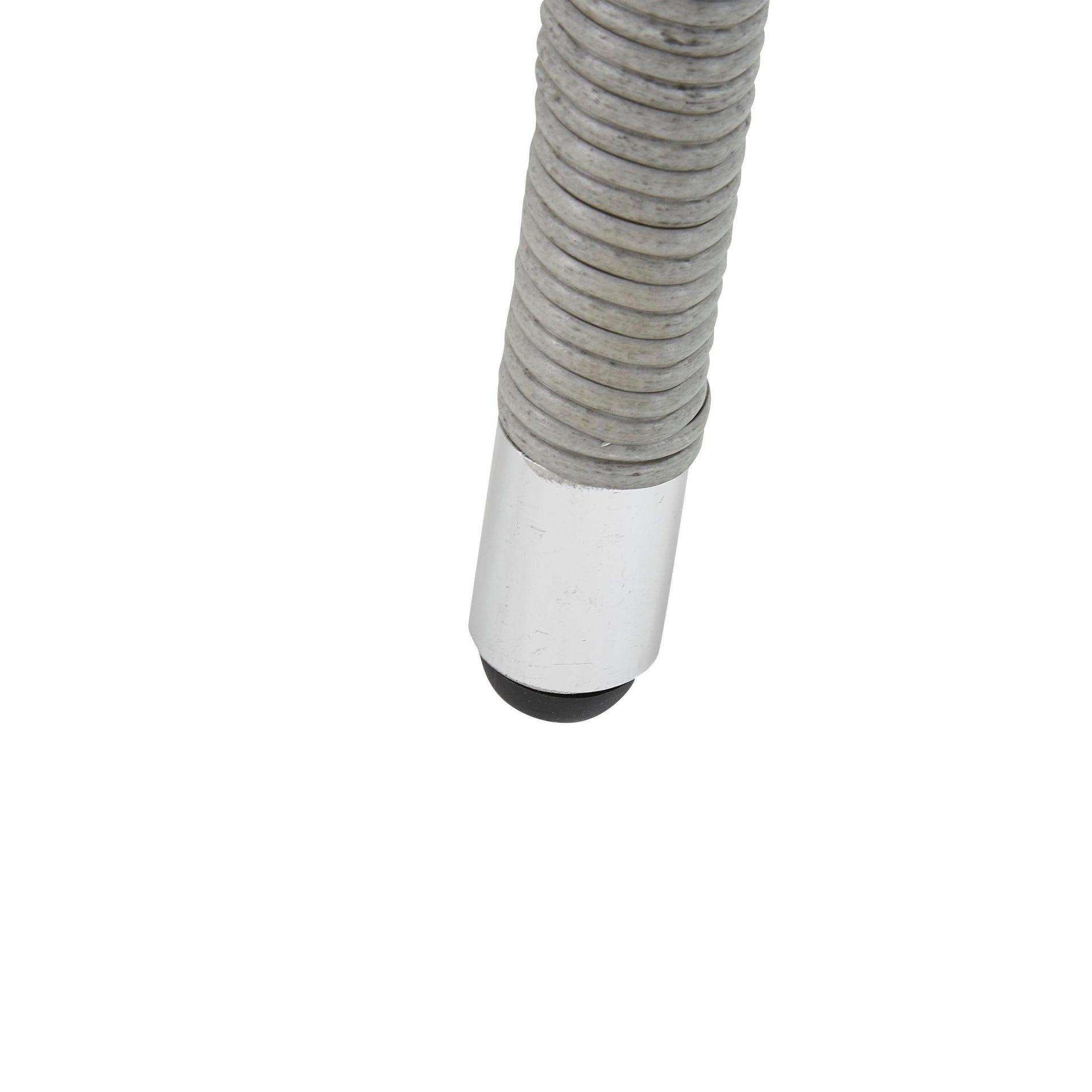 Poltrona da giardino con cuscino in alluminio Davos NATERIAL colore antracite - 4