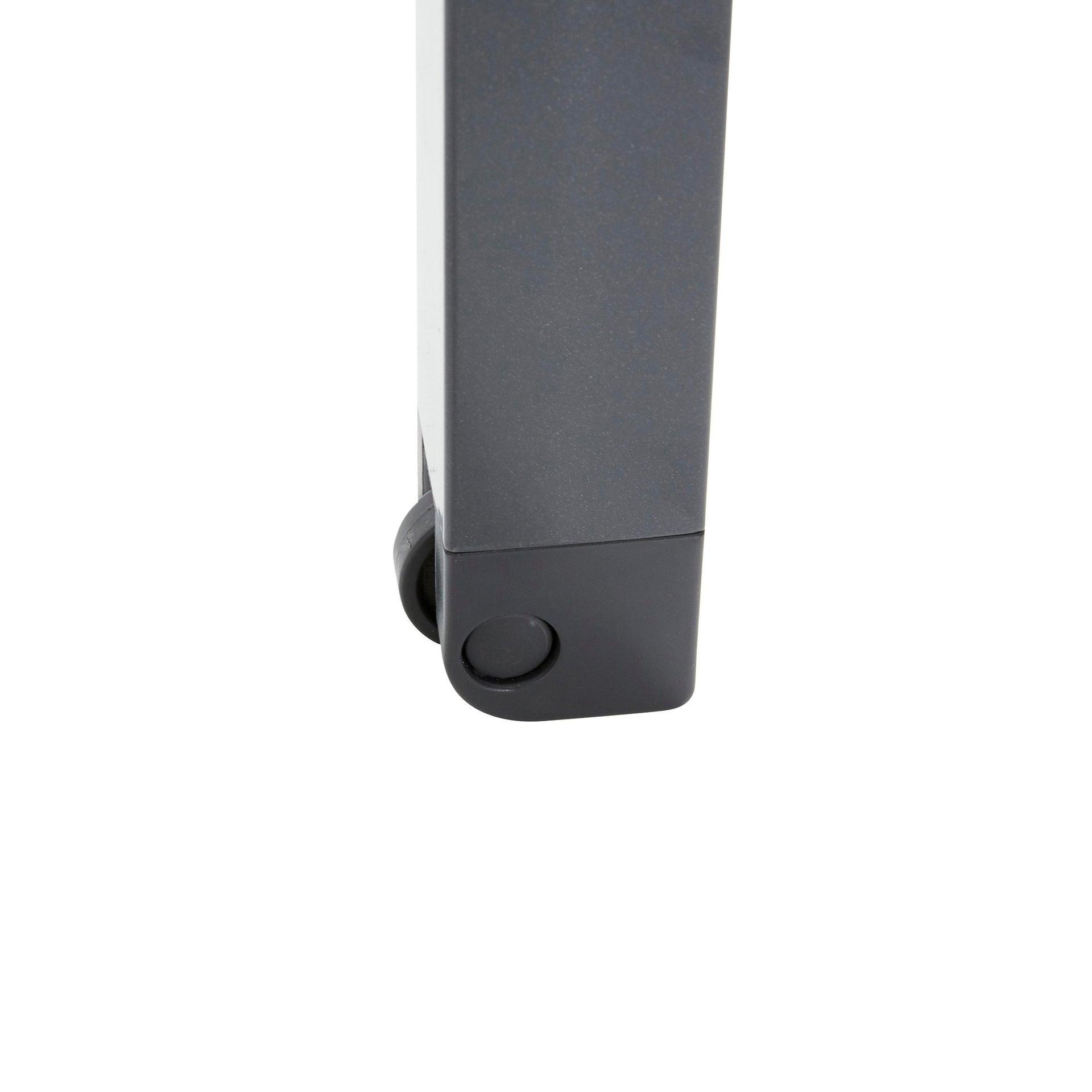 Lettino senza cuscino impilabile NATERIAL Aquila in alluminio grigio scuro - 9